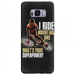 i ride mountain bike Samsung Galaxy S8 Plus Case | Artistshot