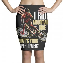i ride mountain bike Pencil Skirts | Artistshot