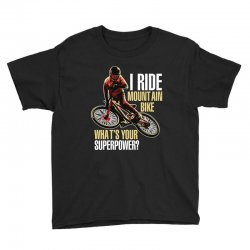 i ride mountain bike Youth Tee | Artistshot