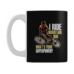 i ride mountain bike Mug | Artistshot