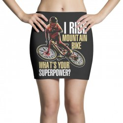 i ride mountain bike Mini Skirts | Artistshot