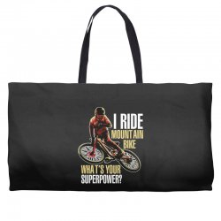 i ride mountain bike Weekender Totes | Artistshot