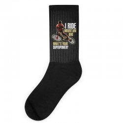 i ride mountain bike Socks | Artistshot