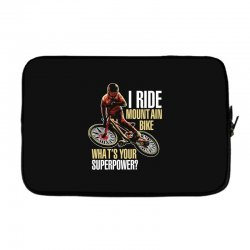 i ride mountain bike Laptop sleeve | Artistshot