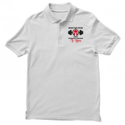 have no fear your personal trainer is here Polo Shirt   Artistshot