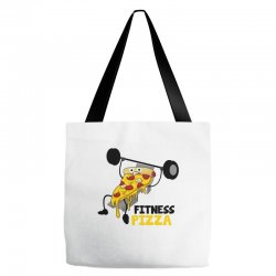 fitness pizza Tote Bags | Artistshot