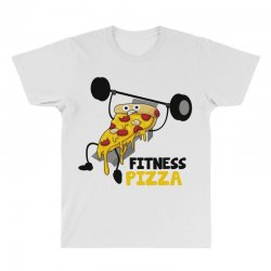 fitness pizza All Over Men's T-shirt | Artistshot