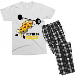 fitness pizza Men's T-shirt Pajama Set | Artistshot