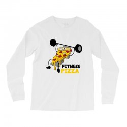 fitness pizza Long Sleeve Shirts | Artistshot