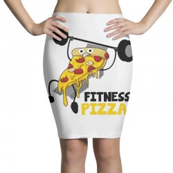 fitness pizza Pencil Skirts | Artistshot