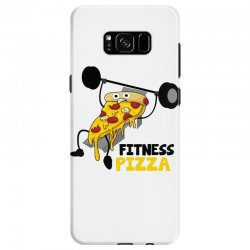 fitness pizza Samsung Galaxy S8 Case | Artistshot