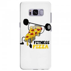 fitness pizza Samsung Galaxy S8 Plus Case | Artistshot