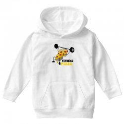 fitness pizza Youth Hoodie | Artistshot