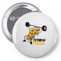 fitness pizza Pin-back button | Artistshot