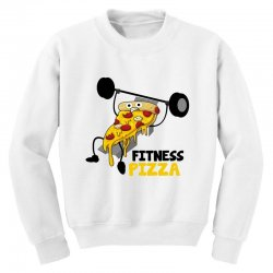 fitness pizza Youth Sweatshirt | Artistshot