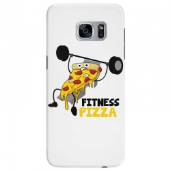 fitness pizza Samsung Galaxy S7 Edge Case | Artistshot