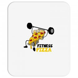 fitness pizza Mousepad | Artistshot