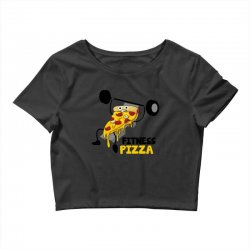 fitness pizza Crop Top | Artistshot