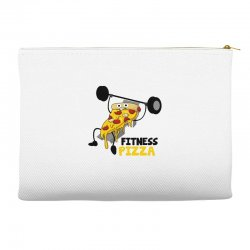 fitness pizza Accessory Pouches | Artistshot