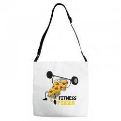 fitness pizza Adjustable Strap Totes | Artistshot
