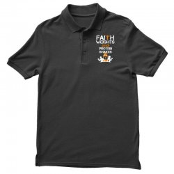 faith weights and protein shakes Polo Shirt | Artistshot