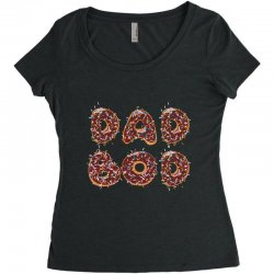dad boo Women's Triblend Scoop T-shirt | Artistshot