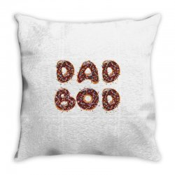 dad boo Throw Pillow | Artistshot