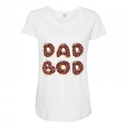 dad boo Maternity Scoop Neck T-shirt | Artistshot