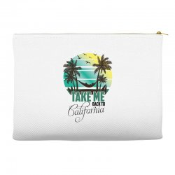 take me back to california Accessory Pouches | Artistshot