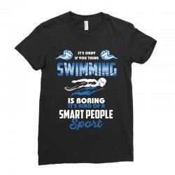 swimming life Ladies Fitted T-Shirt | Artistshot