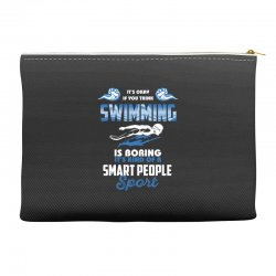 swimming life Accessory Pouches | Artistshot