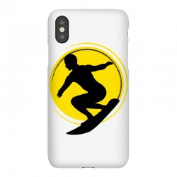 surfing girl iPhoneX Case | Artistshot