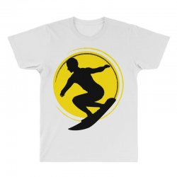 surfing girl All Over Men's T-shirt | Artistshot