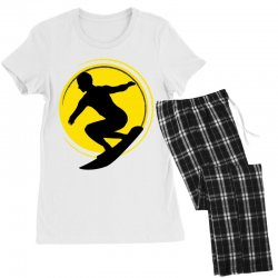 surfing girl Women's Pajamas Set | Artistshot