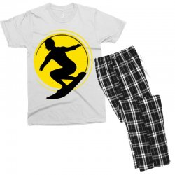 surfing girl Men's T-shirt Pajama Set | Artistshot