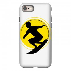 surfing girl iPhone 8 Case | Artistshot