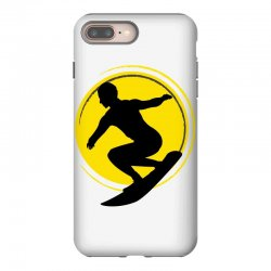 surfing girl iPhone 8 Plus Case | Artistshot