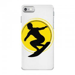 surfing girl iPhone 7 Case | Artistshot