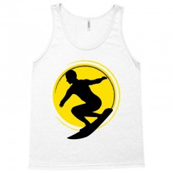 surfing girl Tank Top | Artistshot