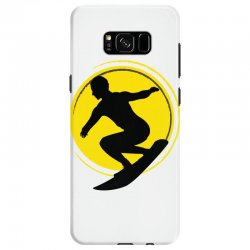 surfing girl Samsung Galaxy S8 Case | Artistshot