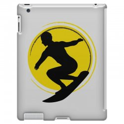 surfing girl iPad 3 and 4 Case | Artistshot