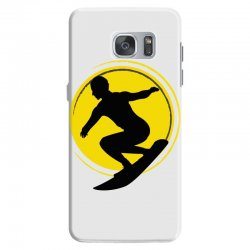 surfing girl Samsung Galaxy S7 Case | Artistshot