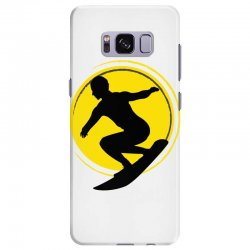 surfing girl Samsung Galaxy S8 Plus Case | Artistshot