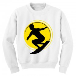 surfing girl Youth Sweatshirt | Artistshot