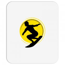 surfing girl Mousepad | Artistshot