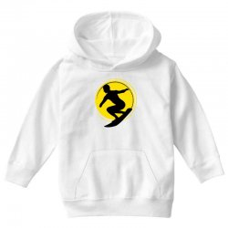 surfing girl Youth Hoodie | Artistshot