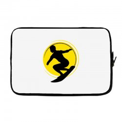surfing girl Laptop sleeve | Artistshot