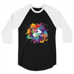 surfing 3/4 Sleeve Shirt | Artistshot