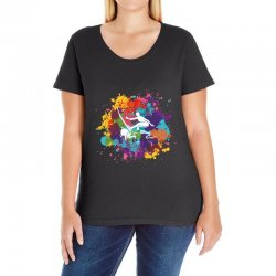 surfing Ladies Curvy T-Shirt | Artistshot