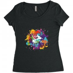 surfing Women's Triblend Scoop T-shirt | Artistshot